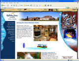 Website Design - Brainerd Holiday Inn - 3 Bear Water & Theme Park - Image
