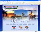 Website Design - East Cape Resorts - Image