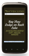 Mobile Website Design - Bay View Lodge - Image