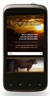 Mobile Website Design - C Diamond Ranch - Image