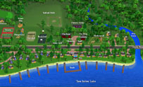 3-D Resort Map - Brookside Resort - Image