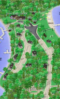 3-D Resort Map - Lost Lake Lodge - Image