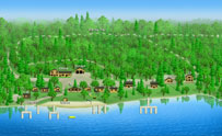3-D Resort Map - Royal Starr Resort - Image
