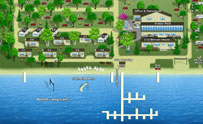 3-D Resort Map - Sullivans Resort & Campground - Image