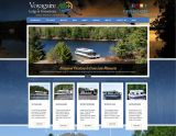 Website Design - Voyagaire Houseboats - Image
