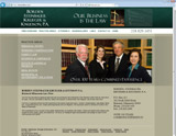 Website Design - Brainerd Law - Borden, Steinbauer, Krueger & Knudson, P.A. - Image