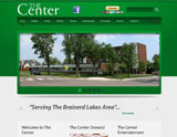 Website Design - The Center - Brainerd Seniors - Image