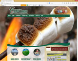 Website Design - Cabin 'O Pines Resort - Image