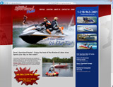 Website Design - Dave's Sportland Rental - Image