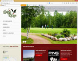 Website Design - Eagle Ridge Golf Coursel - Image