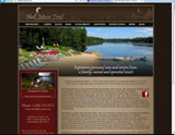 Website Design - Half Moon Trail Reseort - Image