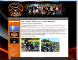 Website Design - Lake Country H.O.G. - Image