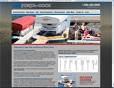 Website Design - Porta-Dock - Image