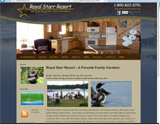 Website Design - Royal Starr Resort - Image