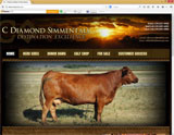 Website Design - C Diamond Simmental Ranch - Image